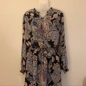 NWT Allison Joy Paisley Dress